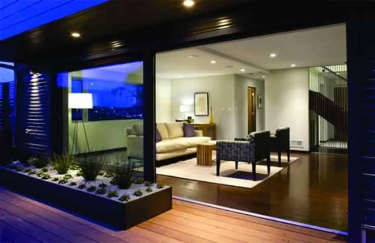 Projetos Residenciais: Salas de estar modernas por Karen Falcochio Arquiteta e Urbanista