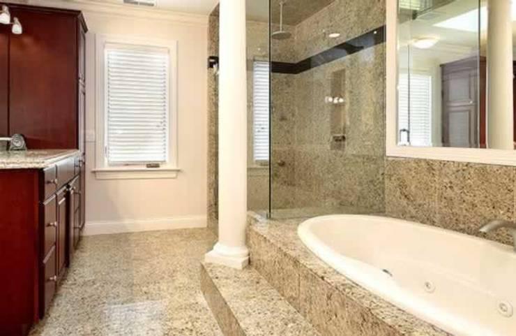 Projetos Residenciais: Banheiros modernos por Karen Falcochio Arquiteta e Urbanista