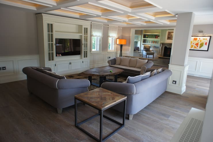 RETA Architecture-Interior-Industrial Design – Ankara Villa:  tarz Oturma Odası