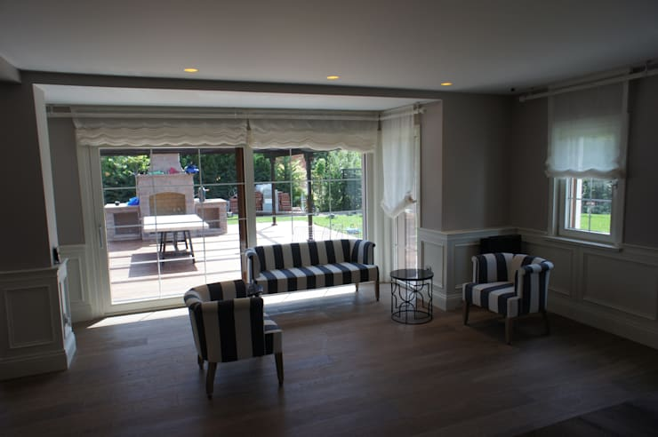 RETA Architecture-Interior-Industrial Design – Ankara Villa: modern tarz Oturma Odası