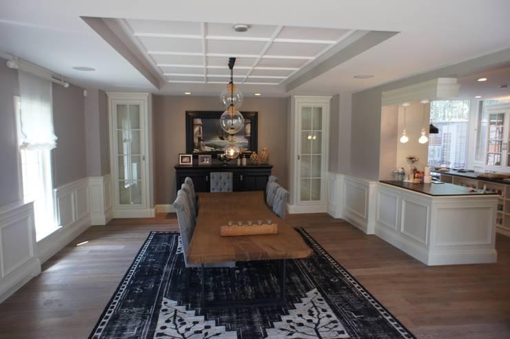 RETA Architecture-Interior-Industrial Design – Ankara Villa:  tarz Yemek Odası