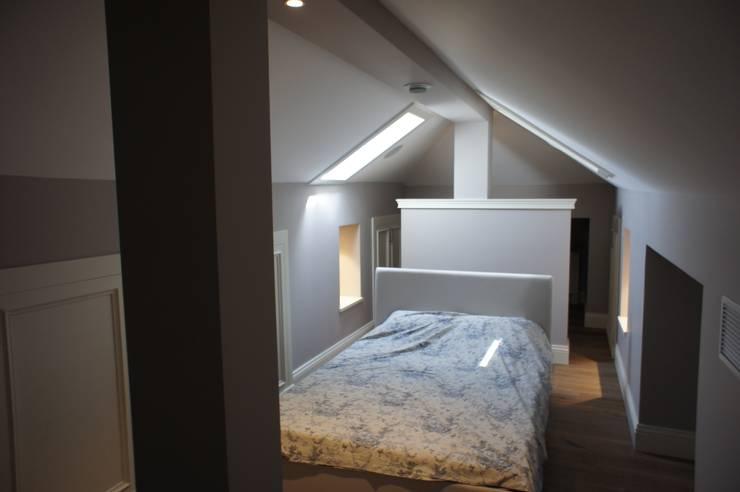 Projekty,  Sypialnia zaprojektowane przez RETA Architecture-Interior-Industrial Design