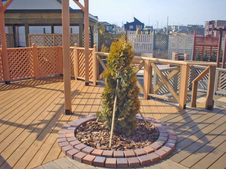 作品: 末広緑化造園株式会社が手掛けた庭です。,
