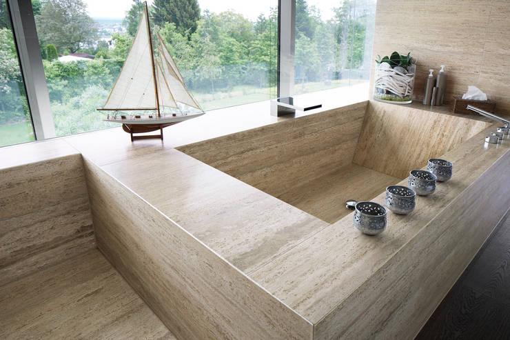 Bathroom by Förstl Naturstein