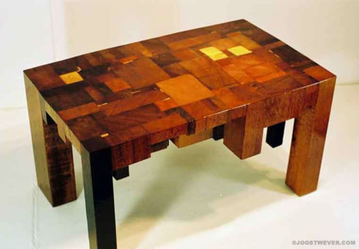 انتقائي  تنفيذ Joost Wever, إنتقائي خشب Wood effect