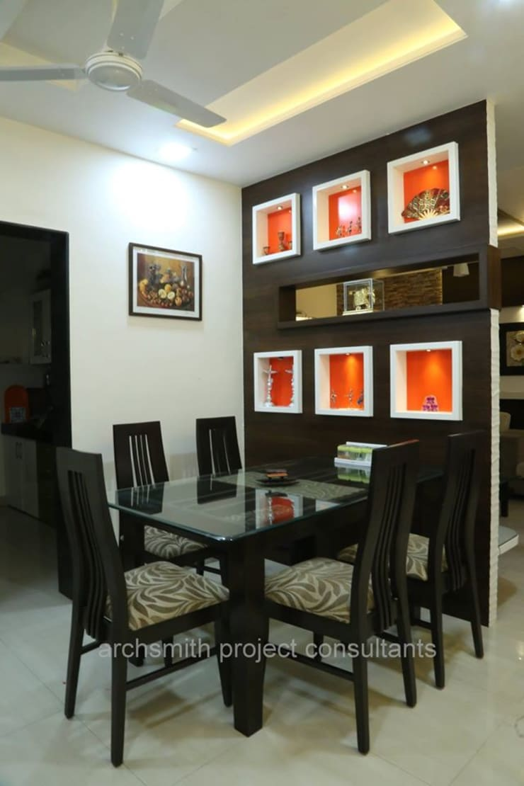 Residence:  Dining room by Archsmith project consultant