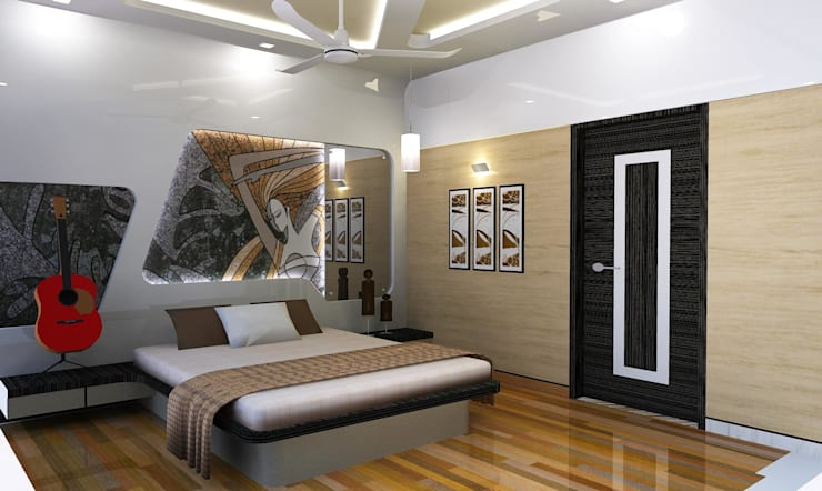 Bedroom Designs:  Bedroom by Archsmith project consultant