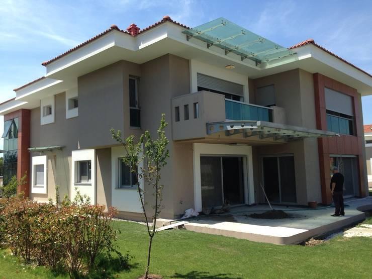my stone madencilik – İzmir Sasalı Villa:  tarz