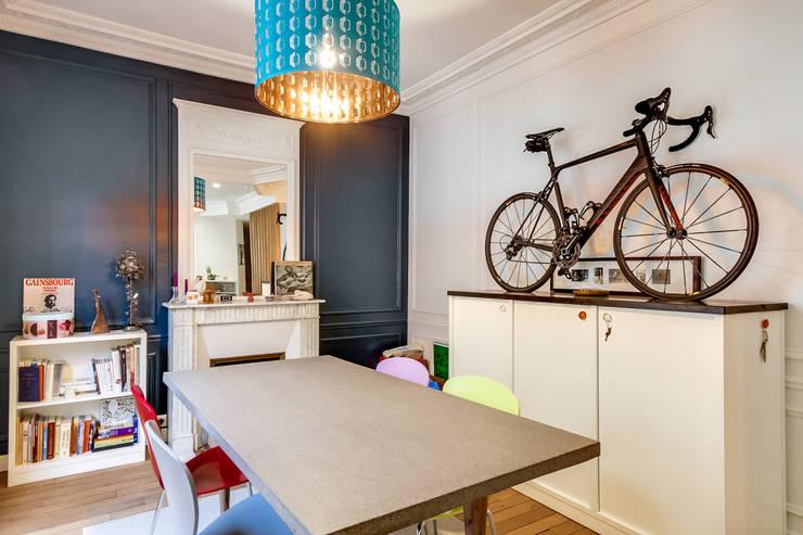 Sala da pranzo in stile in stile Moderno di ATELIER FB