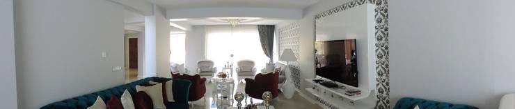 idiliçmimarlık – R. Kılınç Evi:  tarz Oturma Odası, Modern