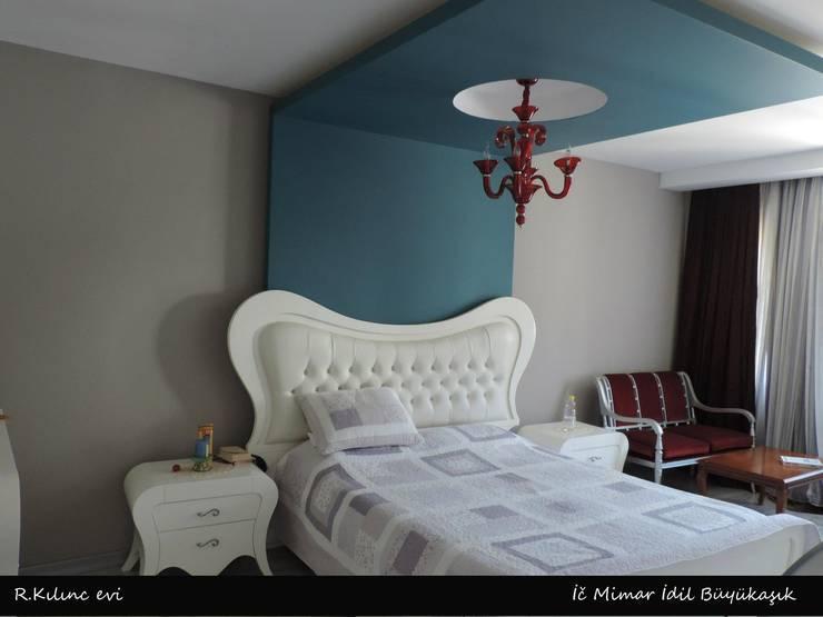 idiliçmimarlık – R. Kılınç Evi:  tarz Yatak Odası