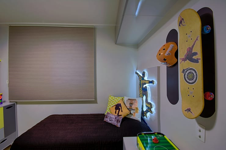 Apartamento Santana: Quarto infantil  por Veridiana França Arquitetura de Interiores