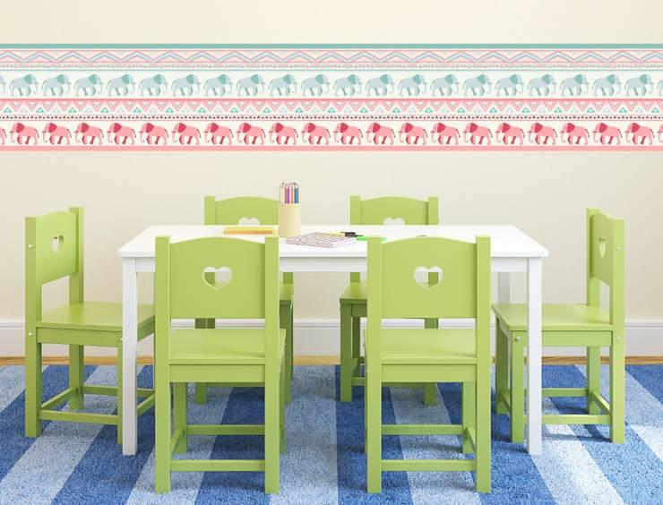 Kinderzimmer Bordüren von I-love-Wandtattoo.de | homify