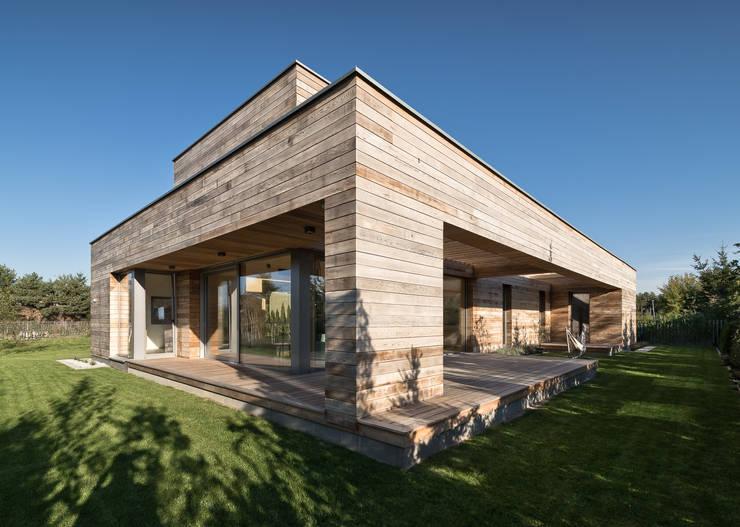 Casas de madera de estilo  por Fotografia Przemysław Turlej