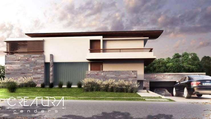 Galeria 1: Casas de estilo  por Creatura Renders,Clásico