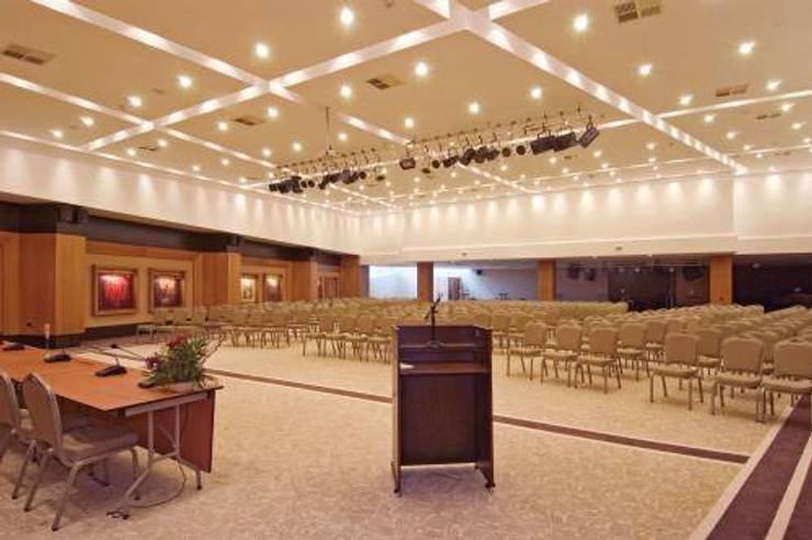 NGY Mimarlık – kapadokya lodge otel - kongre merkezi - anahtar teslimi ince yapı uygulaması:  tarz Oteller