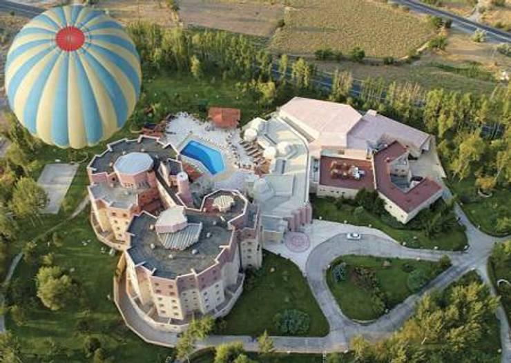 NGY Mimarlık – kapadokya lodge otel – kongre merkezi – anahtar teslimi ince yapı uygulaması:  tarz Oteller