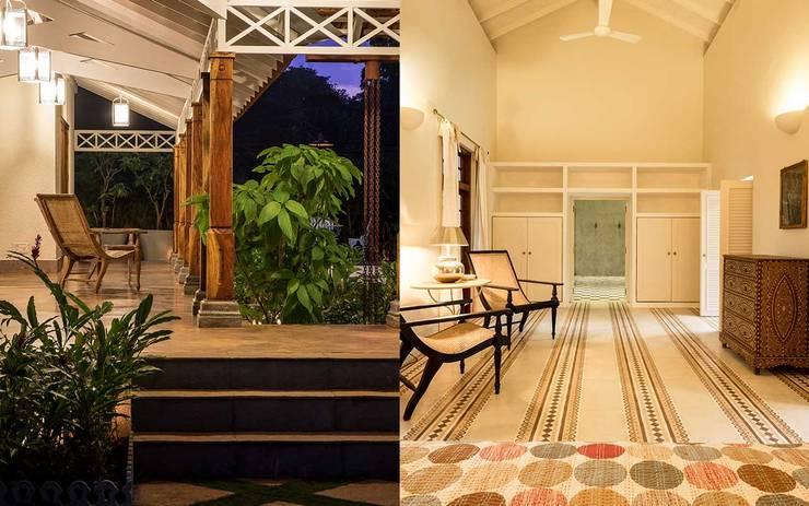Villa Azul: modern Living room by Studio MoMo