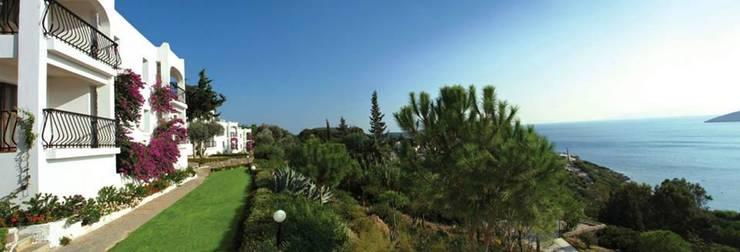 NGY Mimarlık – bodrum bitez aktur apart otel - anahtar teslimi kaba ve ince yapı uygulaması:  tarz Oteller