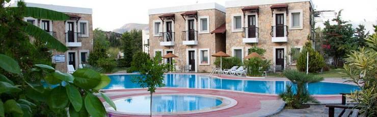 NGY Mimarlık – bodrum bitez aktur apart otel – anahtar teslimi kaba ve ince yapı uygulaması:  tarz Oteller