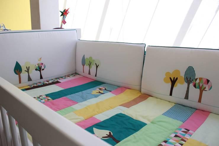 projetos: Quarto infantil  por Panaceia arte em retalhos ltda me