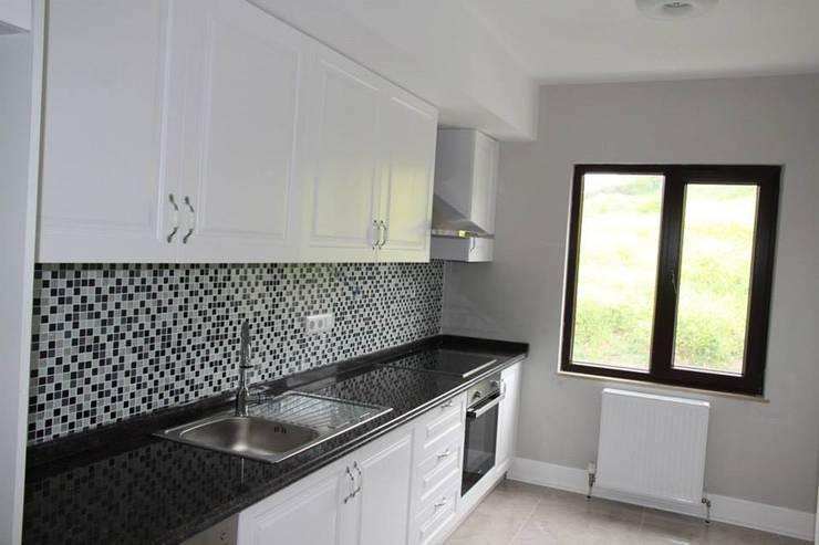 NGY Mimarlık – büyükçekmece ponte grande evleri - dekorasyon projeleri çizimi ve uygulama danışmanlığı:  tarz Mutfak