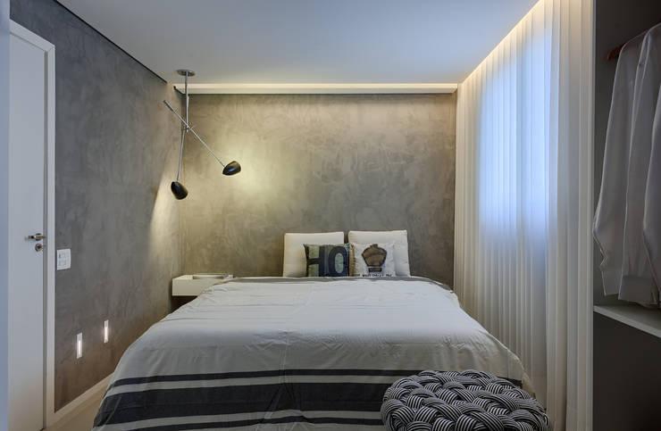 Apartamento | Cobertura : Quartos  por Piacesi Arquitetos