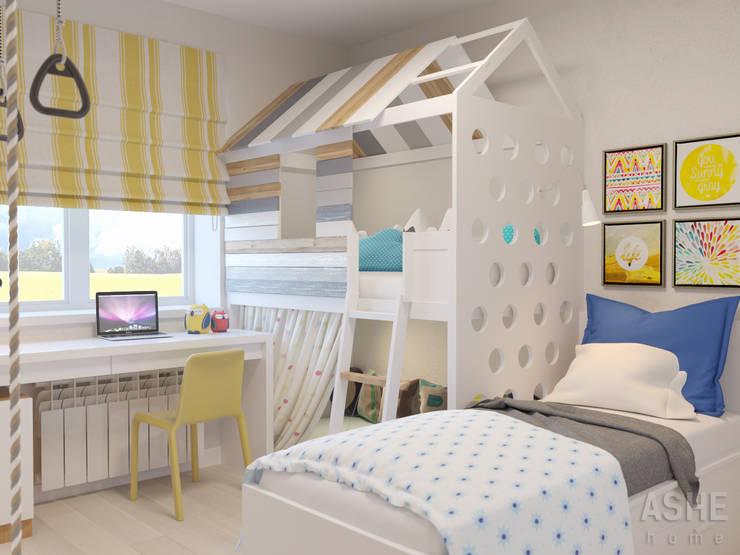 Chambre d'enfant de style de style eclectique par Студия авторского дизайна ASHE Home