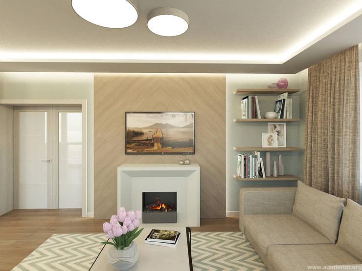 Гостиная: Гостиная в . Автор – A&D-interior