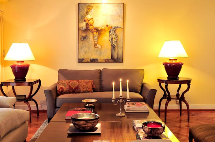 Sofá Duvete Deco: Livings de estilo  por sofa duvete