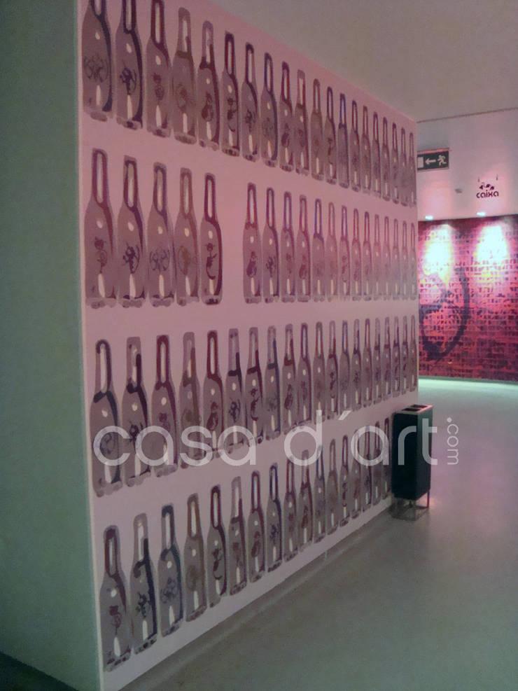 Produção e Aplicação de Murais em Vinil Autocolante – Hotel Costa de Caparica:   por CASADART.PT