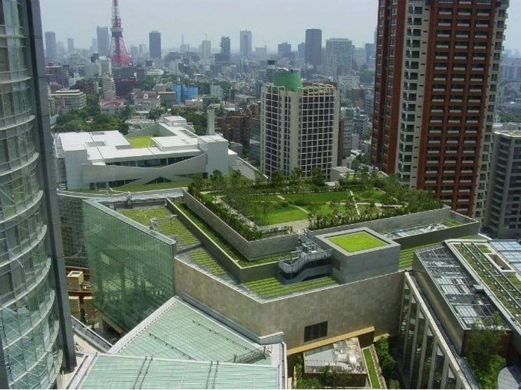 Piscinas naturales y diseños sustentables: Jardines de estilo  por arqs.insitu