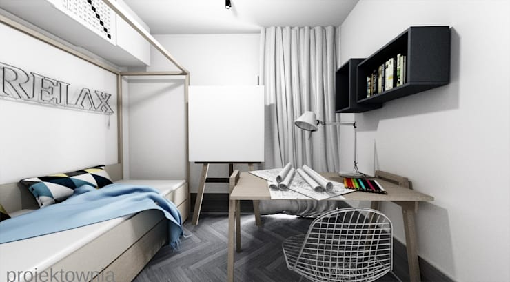 Apartament Chojny Park: styl , w kategorii Pokój dziecięcy zaprojektowany przez Projektownia Marzena Dąbrowska,Nowoczesny