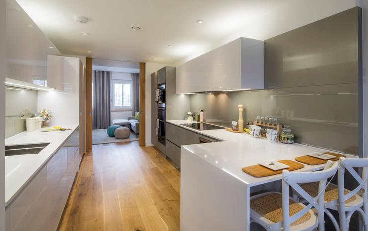 Argyll Place - Kitchen:  Kitchen by Jigsaw Interior Architecture