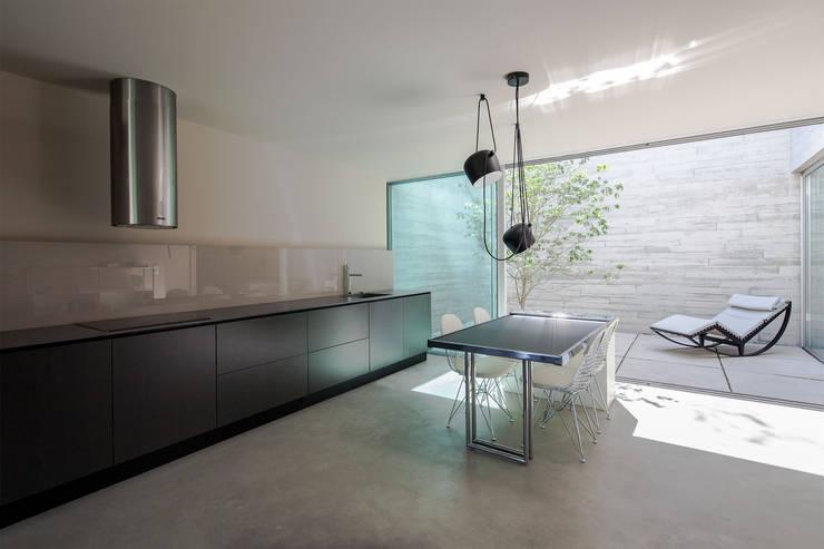 Refúgio na Montaria: Salas de jantar  por Carvalho Araújo