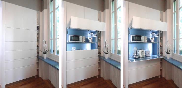 SAFFI VILLETTA: Cucina in stile in stile Minimalista di 02arch