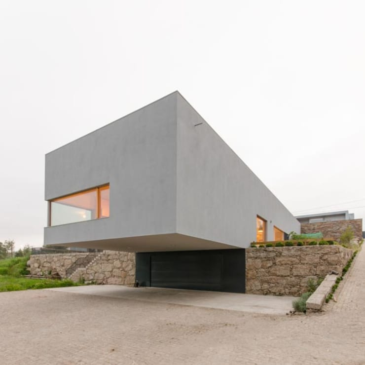 Habitação Unifamiliar Monte dos Saltos: Casas  por olgafeio.arquitectura