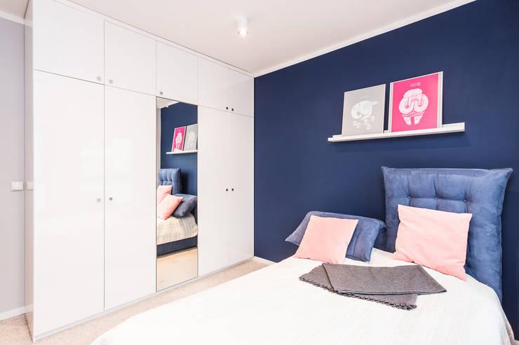 Mieszkanie – Warszawa Włochy: styl , w kategorii Sypialnia zaprojektowany przez Michał Młynarczyk Fotograf Wnętrz