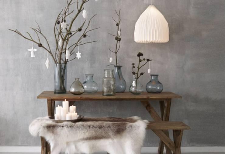 Exemple de Décoration avec les Vases Inside DECO: Paysagisme d'intérieur de style  par Agence Inside DECO