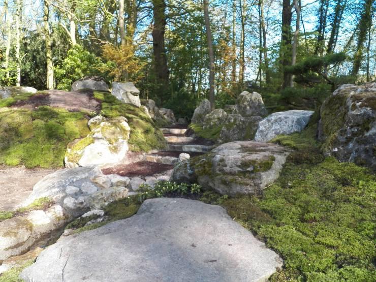 Jardin de style  par Kokeniwa Japanische Gartengestaltung