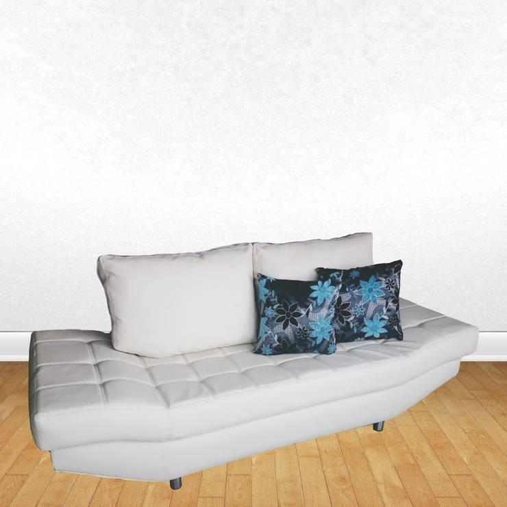 Sofá Modern: Salones de estilo  por Domi Design