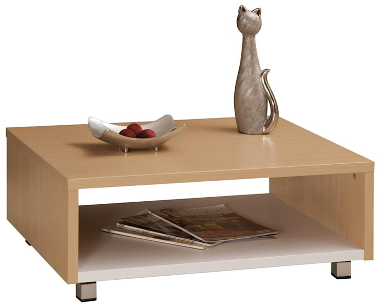 Mesa de Centro Sienna:  de estilo  por Domi Design, Moderno Aglomerado