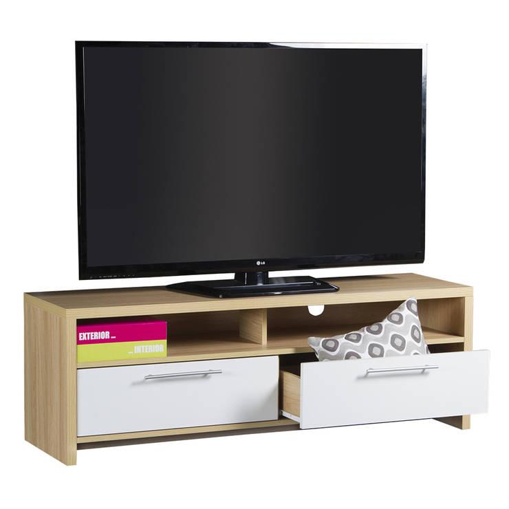 Mesa para tv Tamara:  de estilo  por Domi Design, Moderno Aglomerado