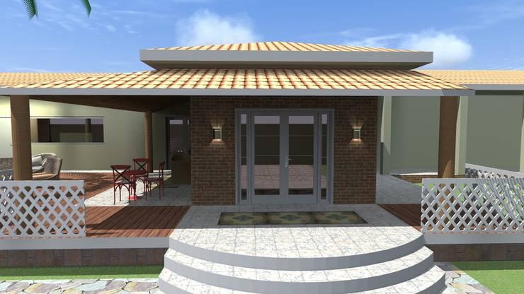 Casas de estilo  por Arquiteto Lucas Lincoln