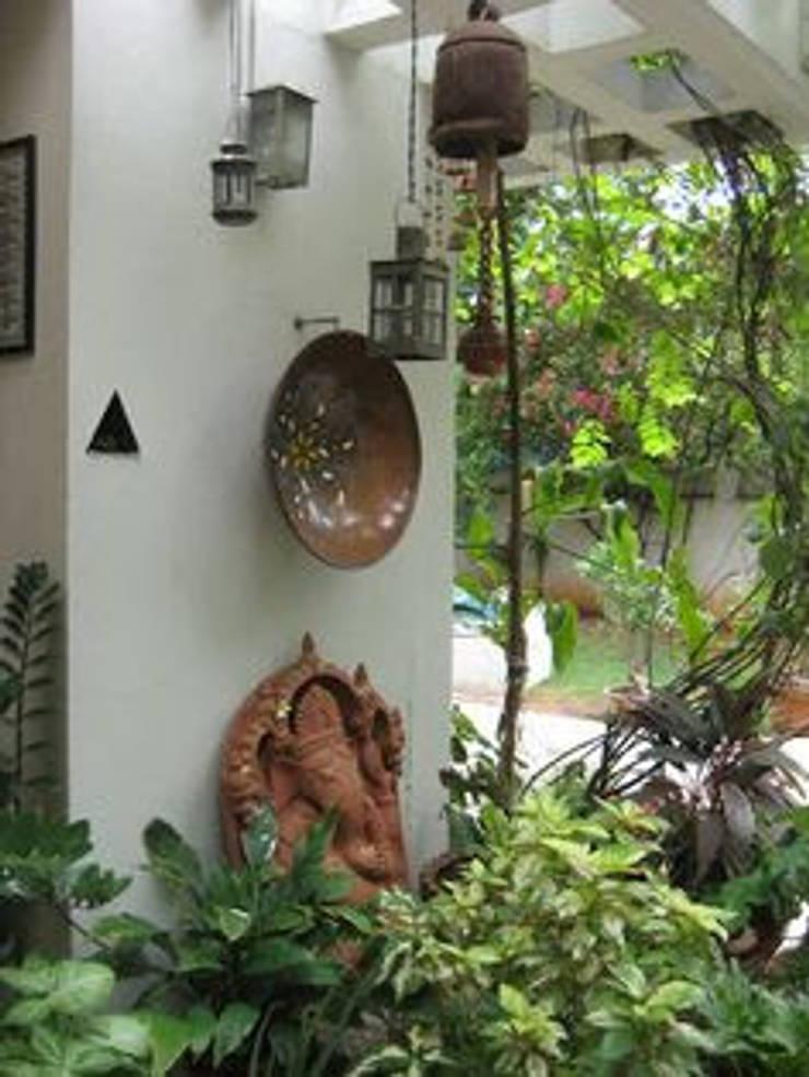 INDIAN INTERIOR DESIGN:  Terrace by srisutath