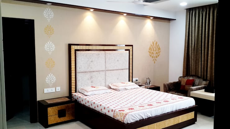 Bedroom Designs: modern Bedroom by sunilchitara
