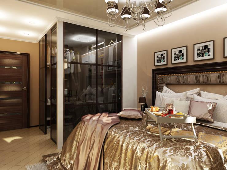 17: Спальни в . Автор – Первое Дизайн-Бюро