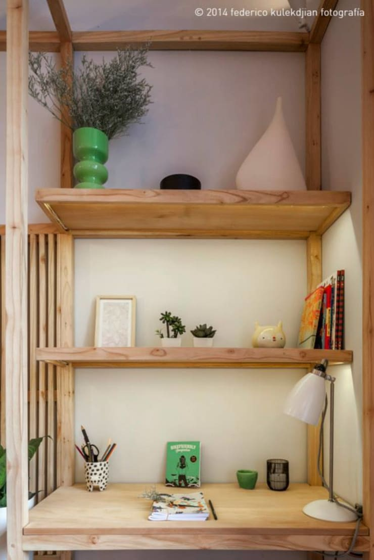 Casa Foa 2014 – Espacio 33: Dormitorios de estilo  por DIM