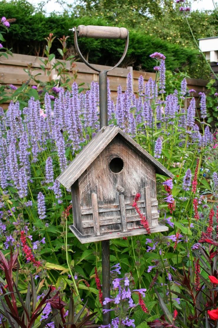 Plek voor de vogels:  Tuin door Carla Wilhelm