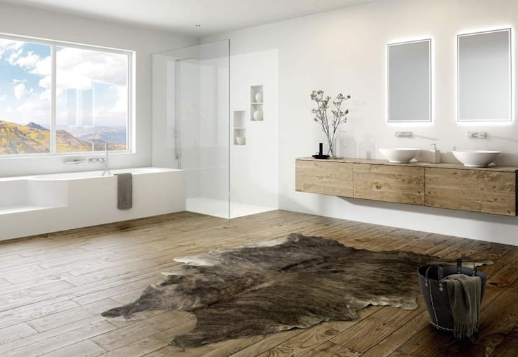 purity: moderne Badezimmer von Talsee